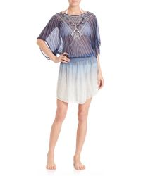 Parker   Sunset Beaded Coverup   Lyst
