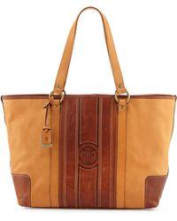 Frye Jane Leather Tote Bag - Lyst