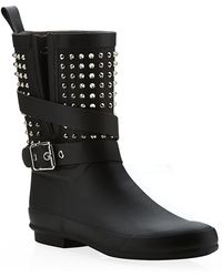 Burberry Shoes & Accessories Holloway Rain Boots - Lyst