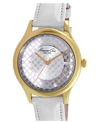 Kenneth Cole | Skeleton Dial Watch | Lyst