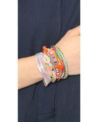 Hipanema - Rainbow Bracelet Multi - Lyst