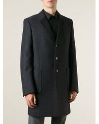 Valentino Single Breasted Coat - Lyst