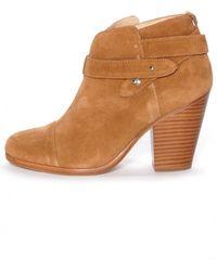 Rag & Bone Hazel Harrow Boot brown - Lyst