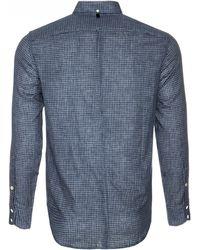 Rag & Bone | blue Yokohama Check Shirt | Lyst