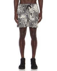Stampd' Leopard Cotton Trunks - Lyst
