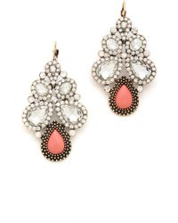 Samantha Wills - Young At Heart Earrings Peach - Lyst