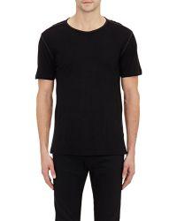 John Varvatos Jersey T-Shirt black - Lyst
