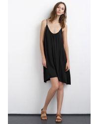 Velvet By Graham & Spencer Danacia Challis Cami Dress black - Lyst
