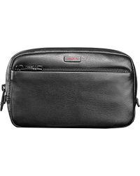 Tumi Alpha 2 Leather Wash Bag - For Men - Lyst