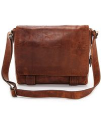 Frye Logan Messenger Bag Cognac - Lyst