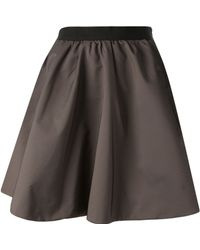 Acne Studios Romantic Bronze Skirt - Lyst
