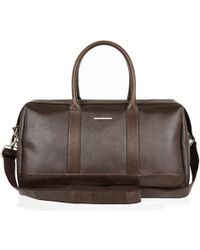 River Island Brown Structured Holdall Bag - Lyst