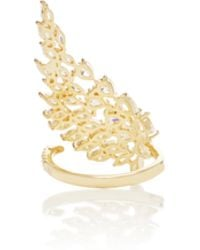 Fallon - Monarch Cluster Wing Ring - Lyst