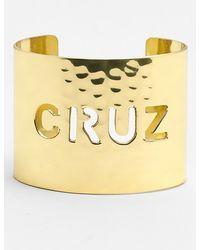 Rustic Cuff | Wide Personalized Cuff | Lyst