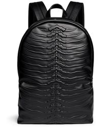 Alexander McQueen | Spinal Cord Leather Backpack | Lyst