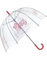 Radley - Rosemary Gardens Paisley Dog Birdcage Umbrella - Lyst