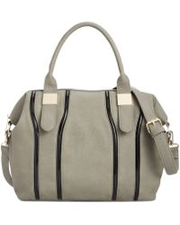 Big Buddha Tudor Satchel with Strap - Lyst