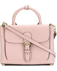 Burberry - Small 'saddle' Tote - Lyst