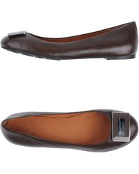 Marc By Marc Jacobs Brown Ballet Flats - Lyst