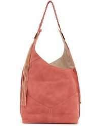 Ella Moss - Skylar Leather Hobo Bag - Lyst
