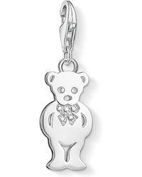 Thomas Sabo | Charm Club Teddy Bear Diamond Charm | Lyst