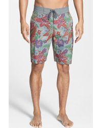 Vans Men'S 'Hamptons Decksider' Board Shorts - Lyst