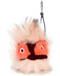 Fendi Monster Bag Bugs Bag Charm - Lyst
