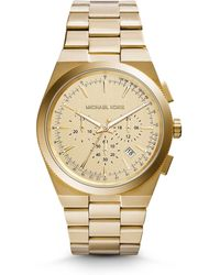 Michael Kors Channing Gold-Tone Watch - Lyst