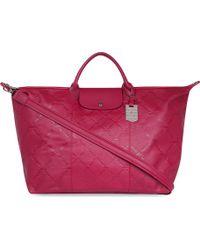 Longchamp Lm Cuir Large Travel Bag - Lyst