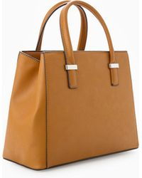 Mango Small Tote Bag - Lyst