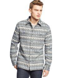Levi's Acey Jacquard Tweed Shirt Jacket - Lyst