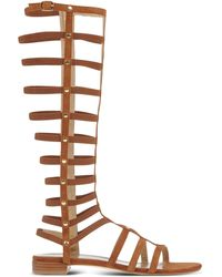 Stuart Weitzman | Leather Gladiator Sandals | Lyst