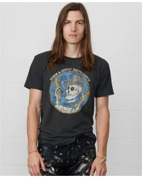 Denim & Supply Ralph Lauren Skeleton-print Cotton T-shirt - Lyst