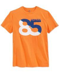Tommy Hilfiger 85Th Drive T-Shirt orange - Lyst