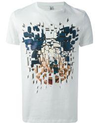 Neil Barrett Graphic Print T-shirt - Lyst