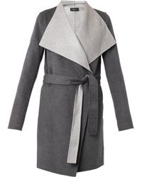 Joseph Lisa Long Double-Faced Coat - Lyst