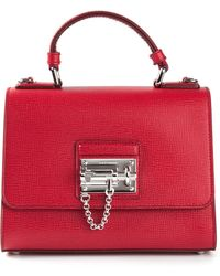 Dolce & Gabbana Chain Feature Tote - Lyst