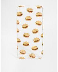 Asos Burger Iphone 5c Printed Case - Lyst