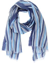 Faliero Sarti Oxford Striped Scarf - Lyst
