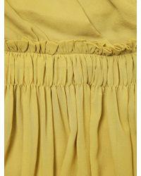Lanvin Techno Jersey Dress - Lyst