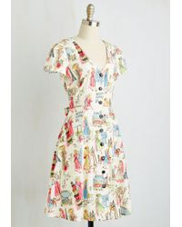 ModCloth | Field Day Off Dress | Lyst