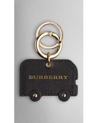 Burberry London Horseferry Check London Bus Key Charm - Lyst