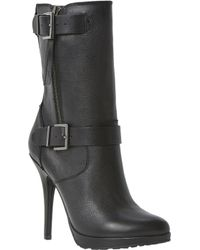 Dune Ribbon Double Buckle Boots - Lyst