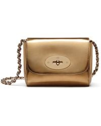 Mulberry | Mini Lily Metallic Shoulder Bag | Lyst