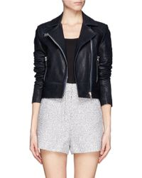 J Brand Dyed Leather Jacket - Lyst