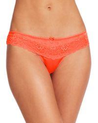 Mimi Holliday by Damaris Cockatoo Mini Lace Boyshorts orange - Lyst