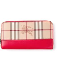 Burberry Check Purse - Lyst