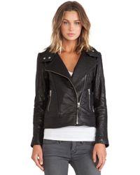 Mackage Lisa Leather Jacket - Lyst