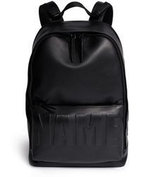 3.1 Phillip Lim Name Drop Embossed Leather Backpack - Lyst