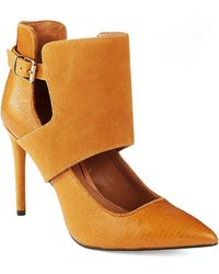 Kenneth Cole Y Bonnet Heels - Lyst